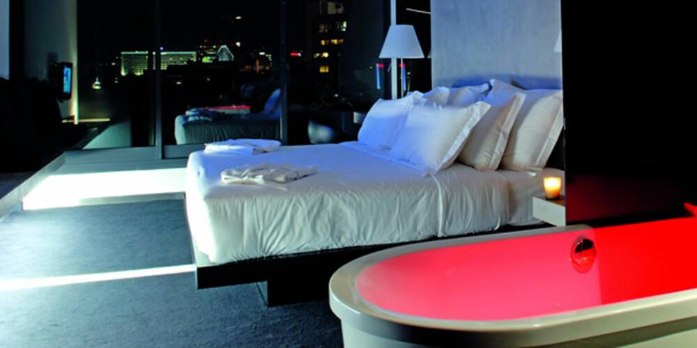 STRAM LUKSUS: La deg inspirere av det stilige interiøret på dette hotellet.