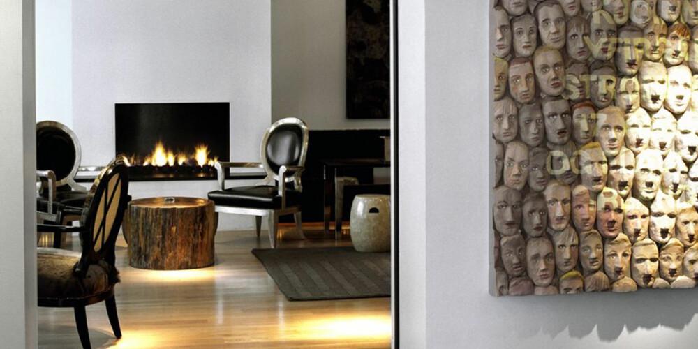 ISLAND: Hotel 101 er det hippeste Reykjavik har å by på ifølge designhotels.com.