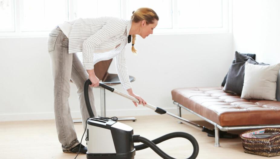 SJEKKLISTE: Ekspertene råder deg til å alge en liste over alt som må gjøres i huset - og krysse av etterhvert som det blir gjort.