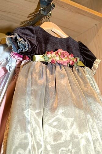 ALENE: Denne kjolen er du nesten grantert at ingen andre har.