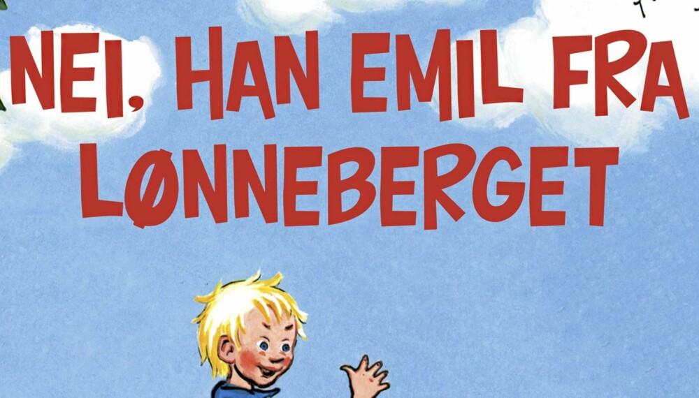 JA, EMIL HETTE HAN: Og det gjør mange gutter i dag også. Av 1000 fødte gutter i 2010, fikk 15 navnet Emil.