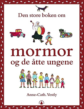 M-BØLGEN: Etter at Anne Cath. Vestly lanserte bøkene om Mormor og de åtte ungene, har mange norske barn fått fornavn på M. Akkurat som barna i bøkene hennes.