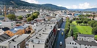 REVITALISERING: Drammen blir ikke lenger oppfattet som et veikryss, men en vakker by ved elva. Prisene på leiligheter stiger mest i landet.