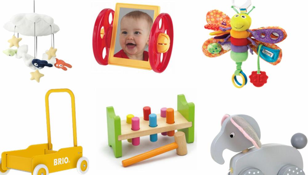 BABYLEKER: Riktige babyleker kan påvirke babyens fin- og grovmotorikk.