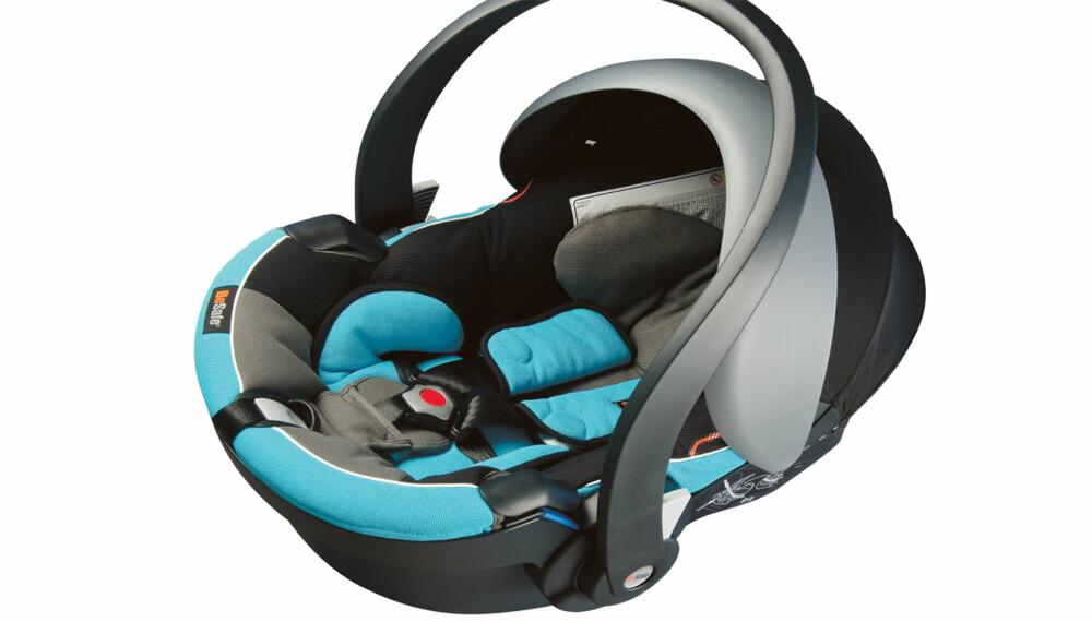 BEST I TEST: Norske Besafe Izi Go kommer aller best ut i den store europeiske bilsete-testen høsten 2011.