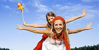 AVSLAPPET: Norske småbarnsforeldre synes at livet som mamma og pappa er mindre stressende enn foreldre i andre Nord-Europeiske land.
