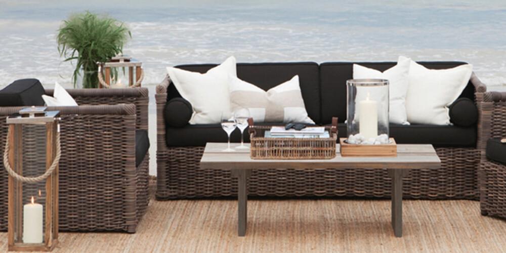 VEDLIKEHOLDSFRI: Disse møblene fra Slettvoll er lekre å se på og lette å ha med å gjøre.