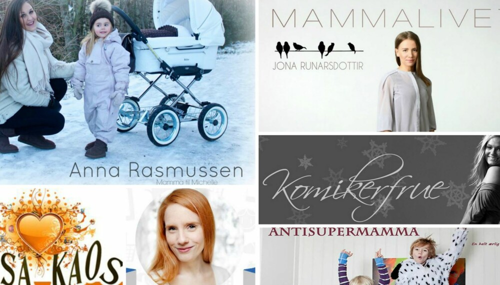 POPULÆRE MAMMABLOGGER: Noen av de mest leste bloggene i Norge er mammablogger.