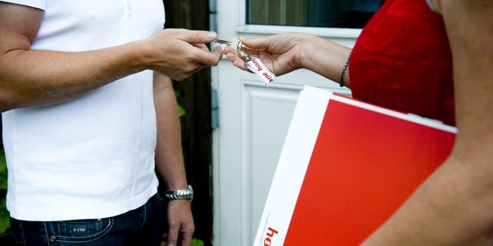 TRYGGHET: Har du tegnet en eierskifteforsikring, er det forsikringsselskapet som behandler alle krav du måtte få fra kjøper.