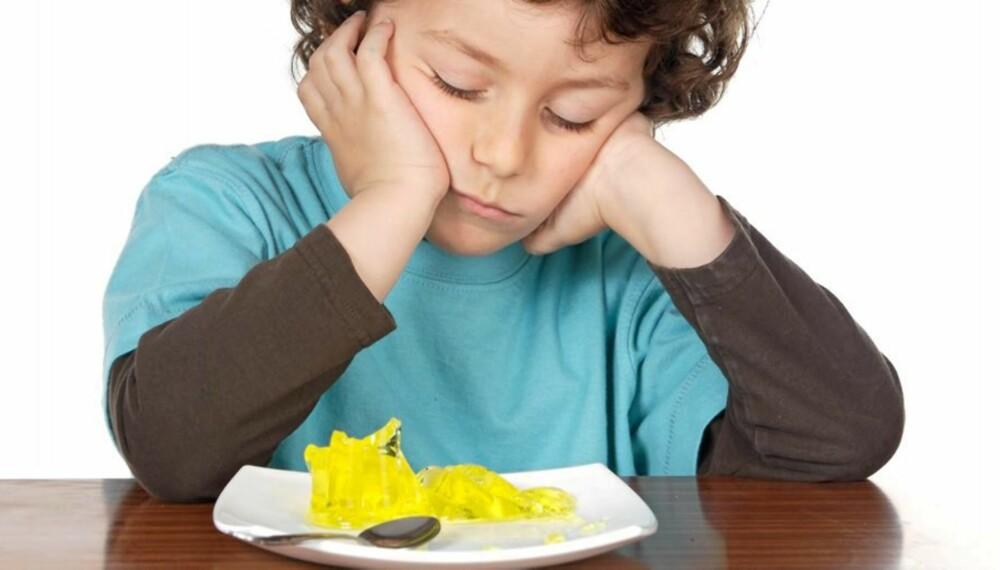 NEKTER Å SPISE: Perioder med spisenekt hos små barn er et velkjent problem i de fleste småbarnsfamilier.