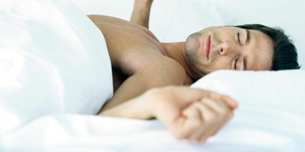 SOV SØTT: Disse tipsene er verdt å få med seg for å gjøre nattesøvnen enda bedre.