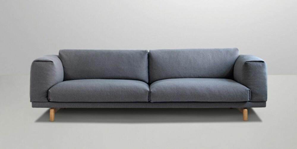 MYK, MYK. Sofaen Rest er kjempemyk, designet av Espen Voll for Muuto.