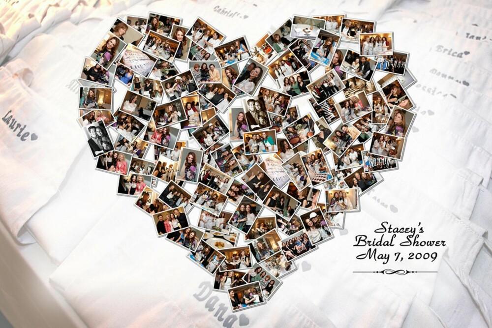 TIL UTDRIKNINGSLAGET: Disse bildene er laget til en søt hjertecollage etter et utdrikningslag. En idé å kopiere? Du finner den på www.jurick.net.