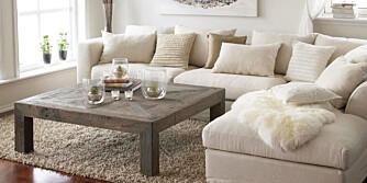 LYS OG VARME: Visste du at sofaen din kan bli raskere stygg om du lar den stå i mye dagslys og direkte solskinn?