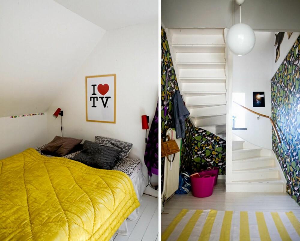 FARGERSTERKE BOLIGER: Fargerike boliger er bare noe av det leserne kan nyte gjennom bloggen dosfamily.com.