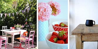 VAKRE HJEM: Bloggerene deler villig vakre bilder av hjemmene sine.