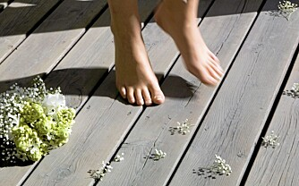 Pigment: Du kan få terrassebeis med og uten pigment