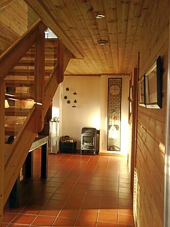 FRA FURUTIDEN: Bilde fra før fornyelsen av huset fra 1994.