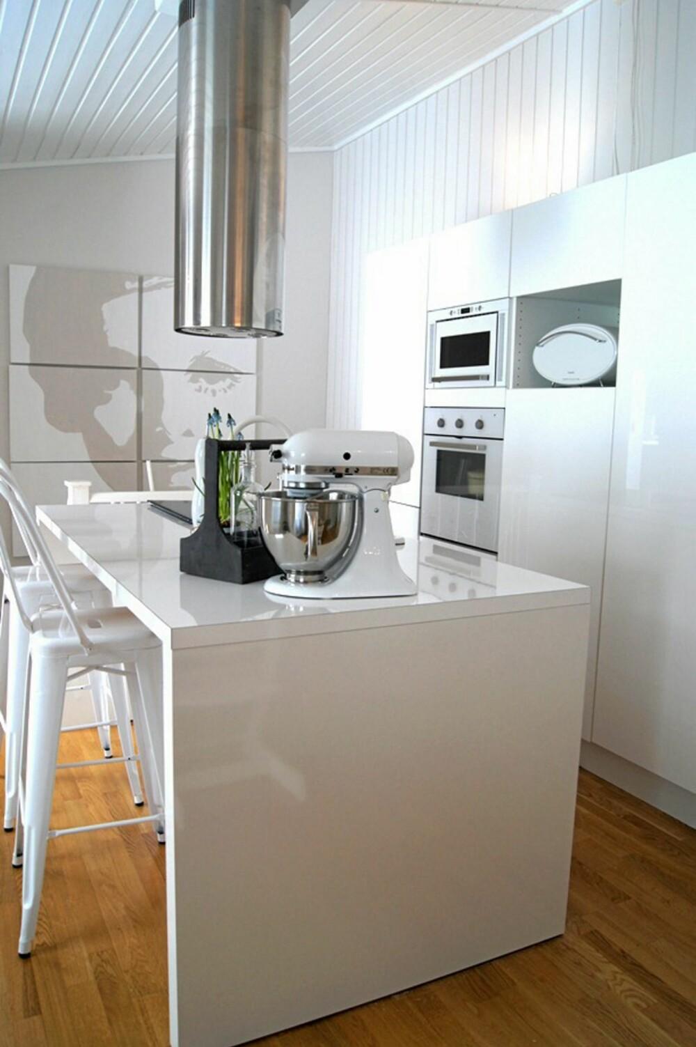 3. PLASS: Kjøkkenet til Eli Anna Eikeland.