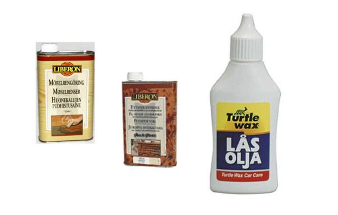 SMØREMIDDEL: Prøv deg fram med voks og olje i sprekker. Kanskje du løser knirkeproblemet med det.