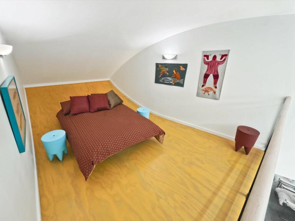 PIKEVÆRELSE: På loftet bor datteren i huset.