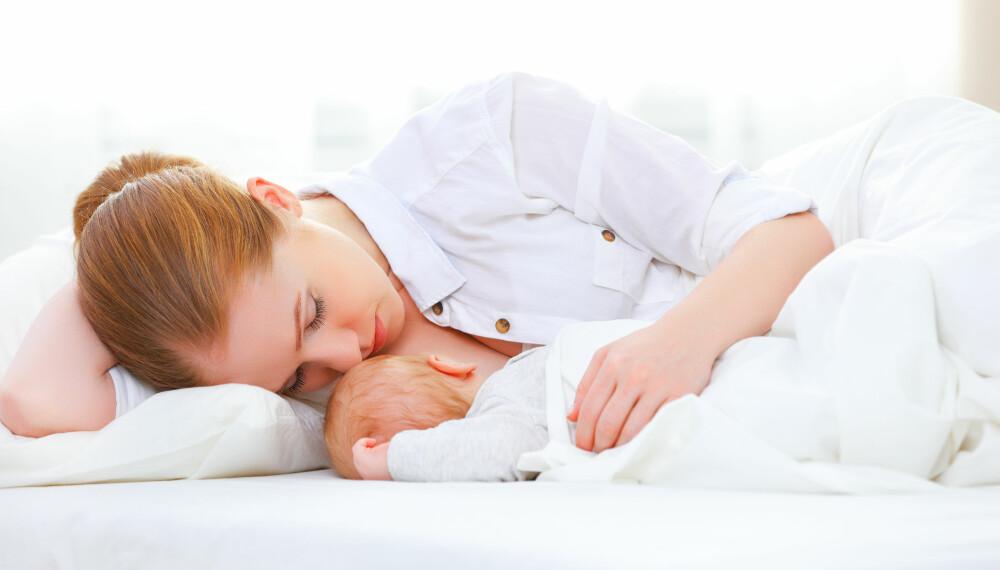 SÅRE BRYSTVORTER: - Hovedårsaken til såre og ømme brystknopper er gjerne feil dieteknikk, eller at barnet ikke blir lagt til slik at det klarer å gape høyt nok, forklarer Tonje Gurrik fra Ammehjelpen.