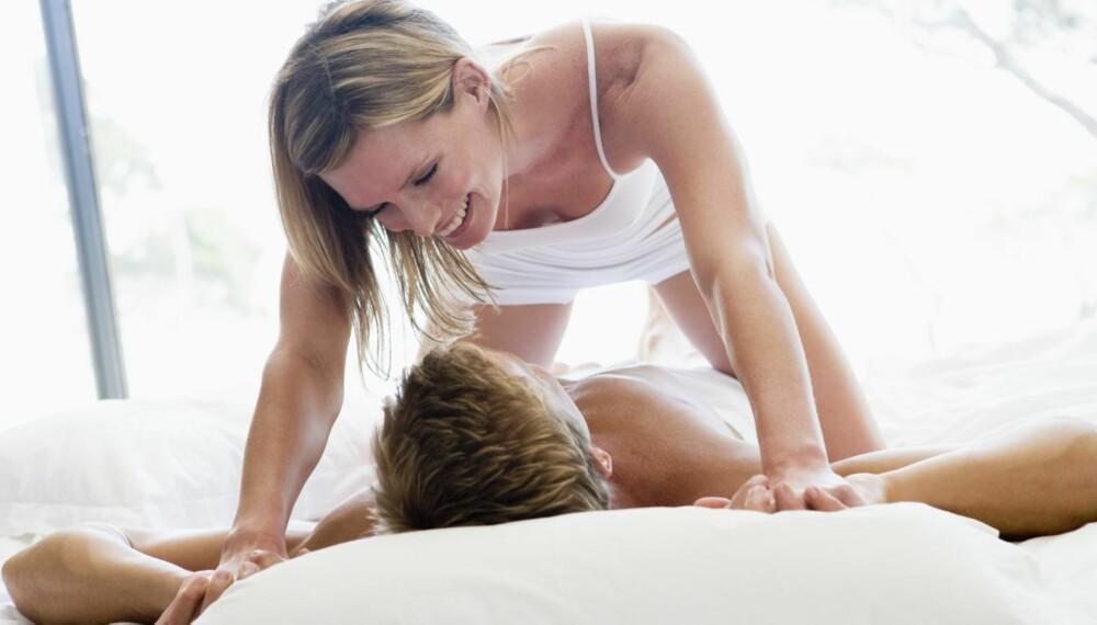 KOM I GANG: Kom i gang med det seksuelle etter at dere har fått barn, råder eksperten.