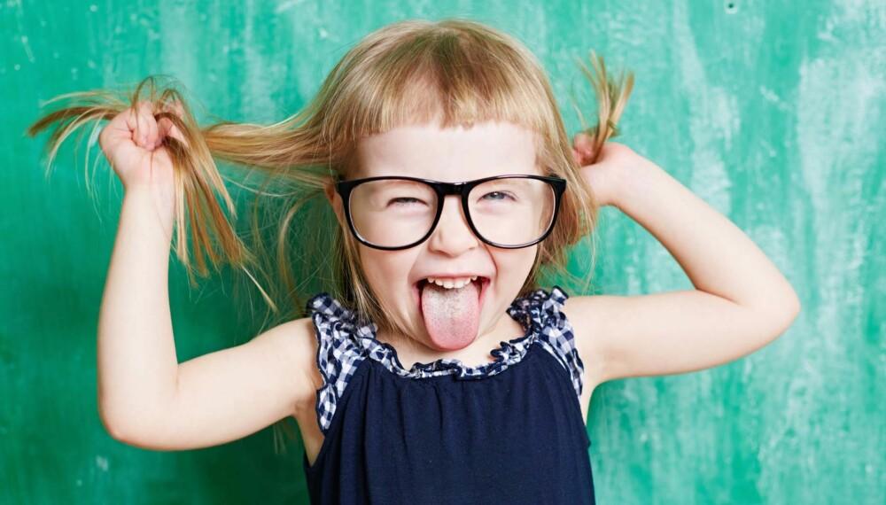 BRILLER TIL BARN: Mistenker du at barnet ditt har nedsatt syn, få en synstest så snart som mulig.