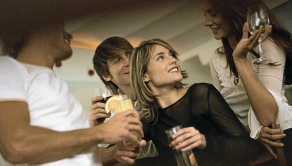 IKKE SÅ MANGE: Kvalitet er viktigere enn kvantitet når det kommer til venner.