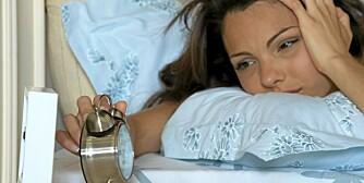 SØVNLØSHET: Ikke fortvil om du sliter med søvnløshet, det finnes gode løsninger for å bli kvitt problemet.