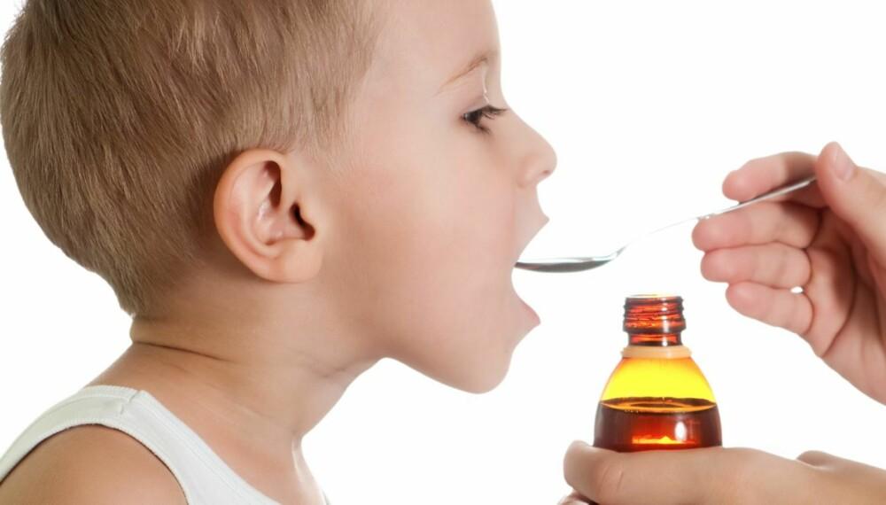 PREMIE: La barnet spise eller drikke noe det liker etter å ha tatt medisinen, for eksempel saft eller en bit sjokolade.