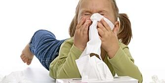 SNUFS: Hvert år blir tusenvis av barn syke på høsten, og det er viktig å holde barna hjemme til de er helt friske igjen.