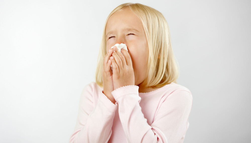 PLAGSOMT: For mange barn er våren synonym med tett nese, hodepine, hovne og kløende øyne, utslett og tung pust.