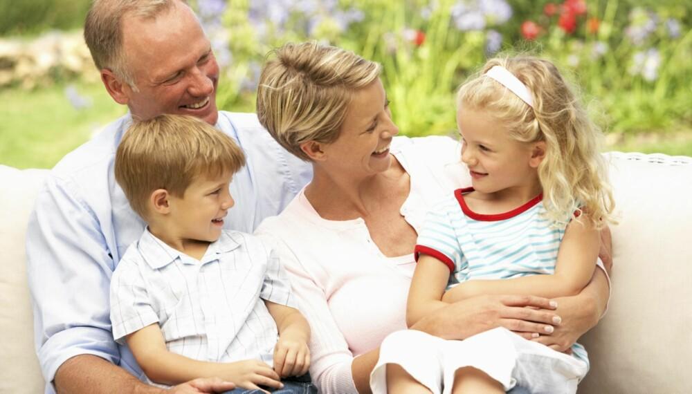 Spesifiserende ros til barnet er bra for selvtilliten. Foto: Colourbox.no