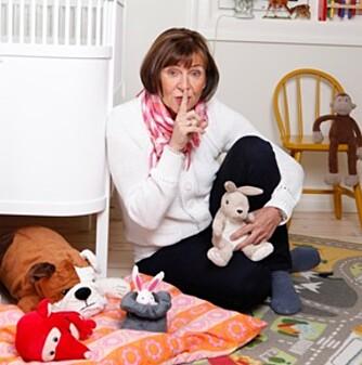 SØVNTERAPEUT: Karin Naphaug er helsesøster og søvnteraput for barn. Hun er helt overbevist om at dårlig søvn fører til humørsvingninger og endret adferd.
