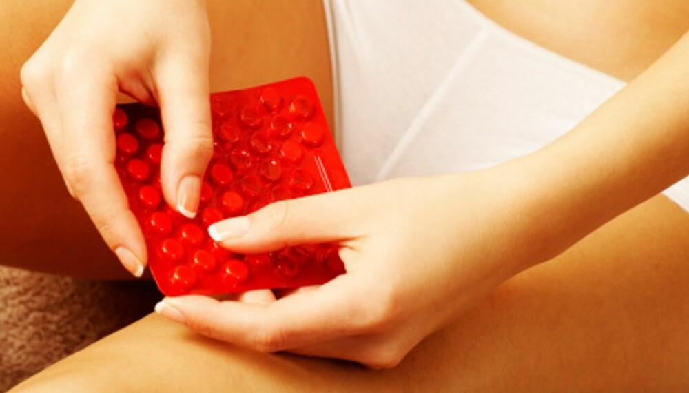red contraceptive
