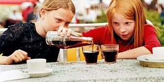 BRUS: Det er brus  og energidrikker som får skylden for at barn blir avhengige av koffein.