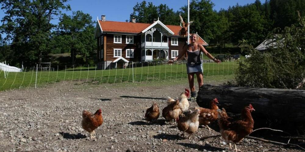 GÅRDSBUTIKKER: Veikåker gård i Noresund.