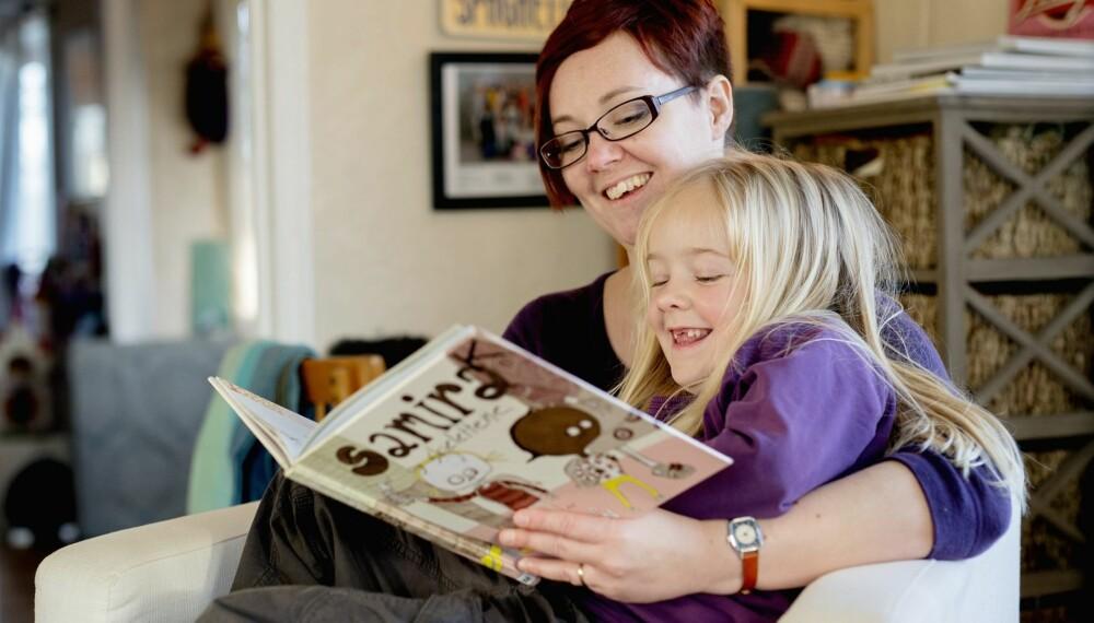 NORMAL MAMMA: Som mamma følte Kjellaug seg nødt til å ta tak i problemene. Hun ville ikke være en mamma som var redd for alt mulig.