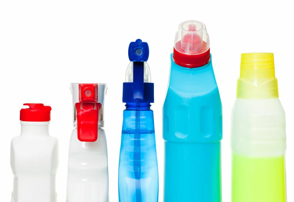 VAKSEMIDLER: Disse inneholder mange stoffer som kan være svært farlige hvis barna svelger dem.