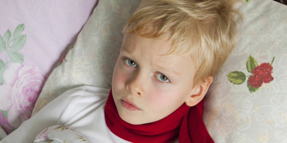 HYPOKONDERTESTEN: Kan anvendes på barn fra 3 år og oppover.