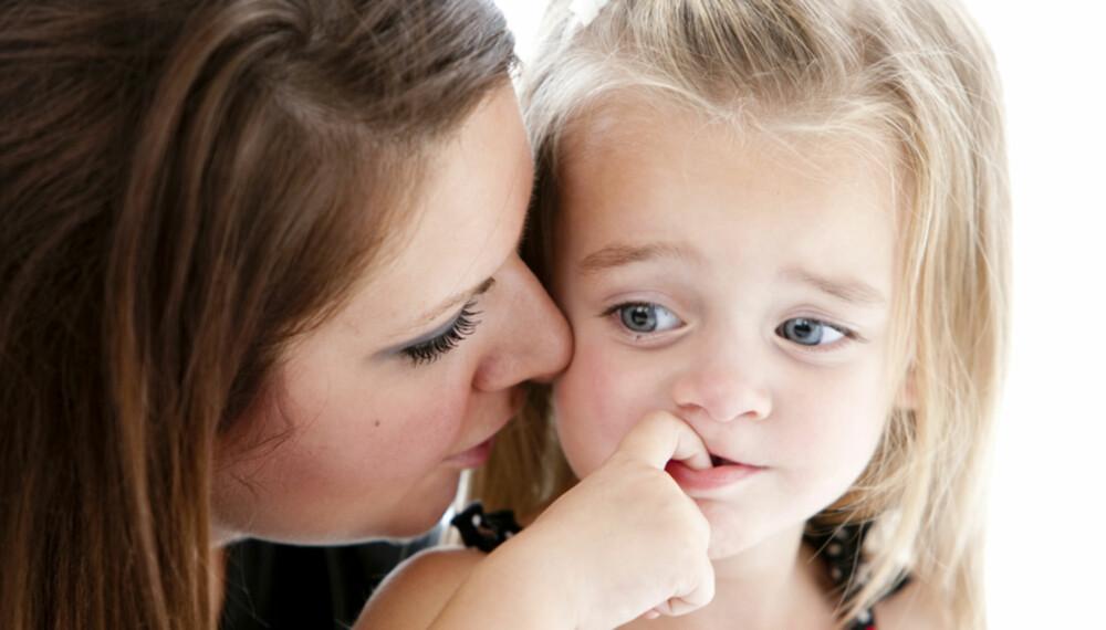 REN MANIPULASJON: Å oppdra barna går som en lek om du lærer deg å være smartere enn dem.