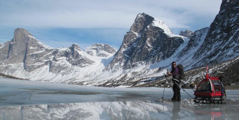 100 FJELLTOPPER: Allerede før ettårsdagen hadde Tristan vært på 100 fjelltopper.