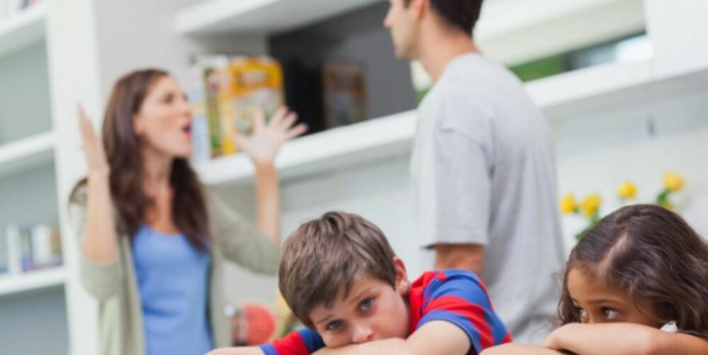 KJEFTING: Barn tåler mindre lyd, og binder seg fort hvis det kjeftes høylytt.