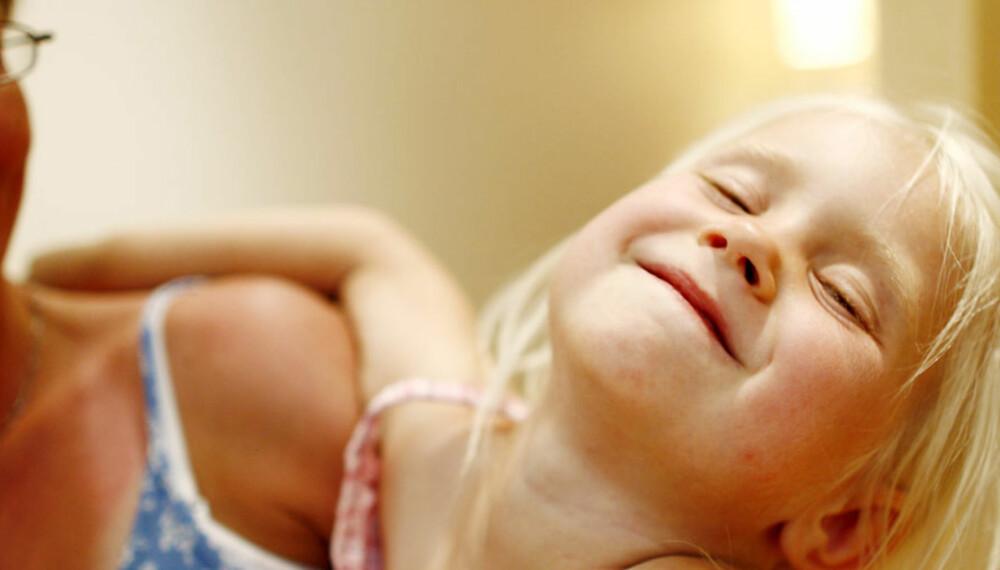 00f67423 MAMMADALT: Små barn favoriserer gjerne den personen de er mest sammen med,  sier forsker