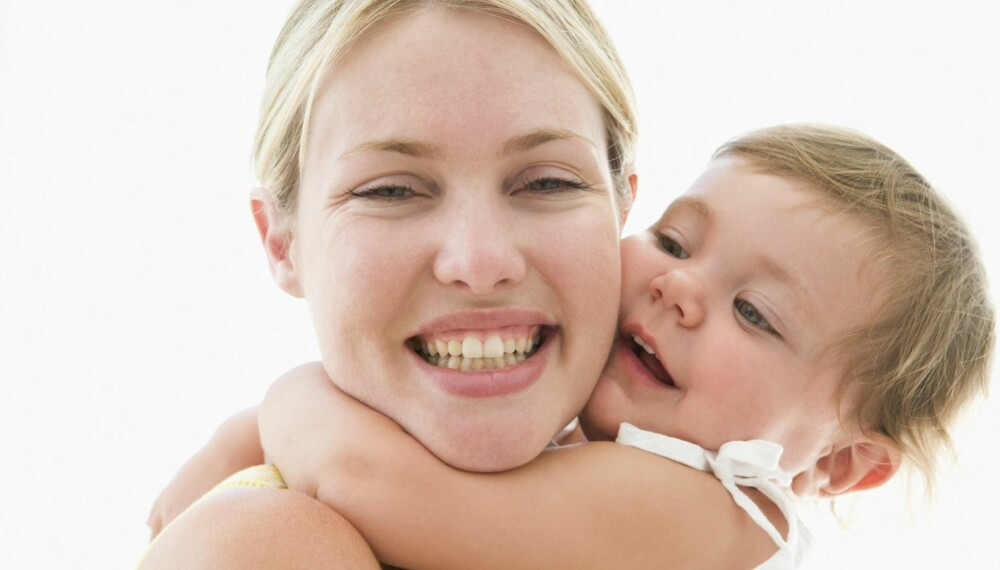 TIL LADING: Noen minutters ro, kjærlighet og nærvær gir både deg og barnet ditt en bedre ettermiddag.