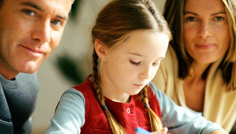TØFT FOR BARNA: Det kan være utrolig vanskelig for de yngste i familien når mor og far ikke lenger kan leve sammen.