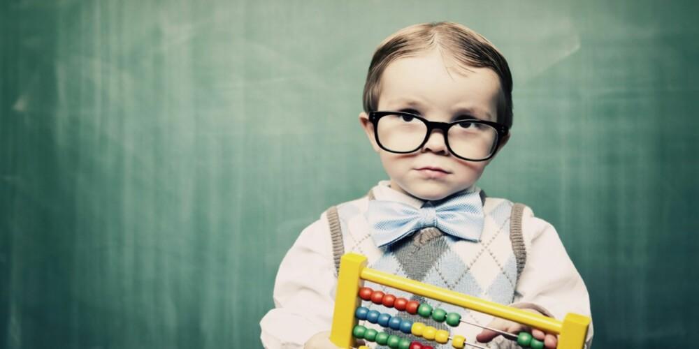 SMARTE BARN: Hva hvis du mistenker at barnet ditt har spesielle evner. Går du da til barnehagen og sier at «barnet mitt er smartere enn andre på hans alder»?