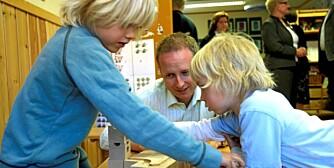 Kunnskapsminister Bård Vegar Solhjell (SV) vil lovfeste barnehageplass.