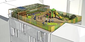 EFFEKTIVT: De nye barnehagene er i alle fall arealeffektive!